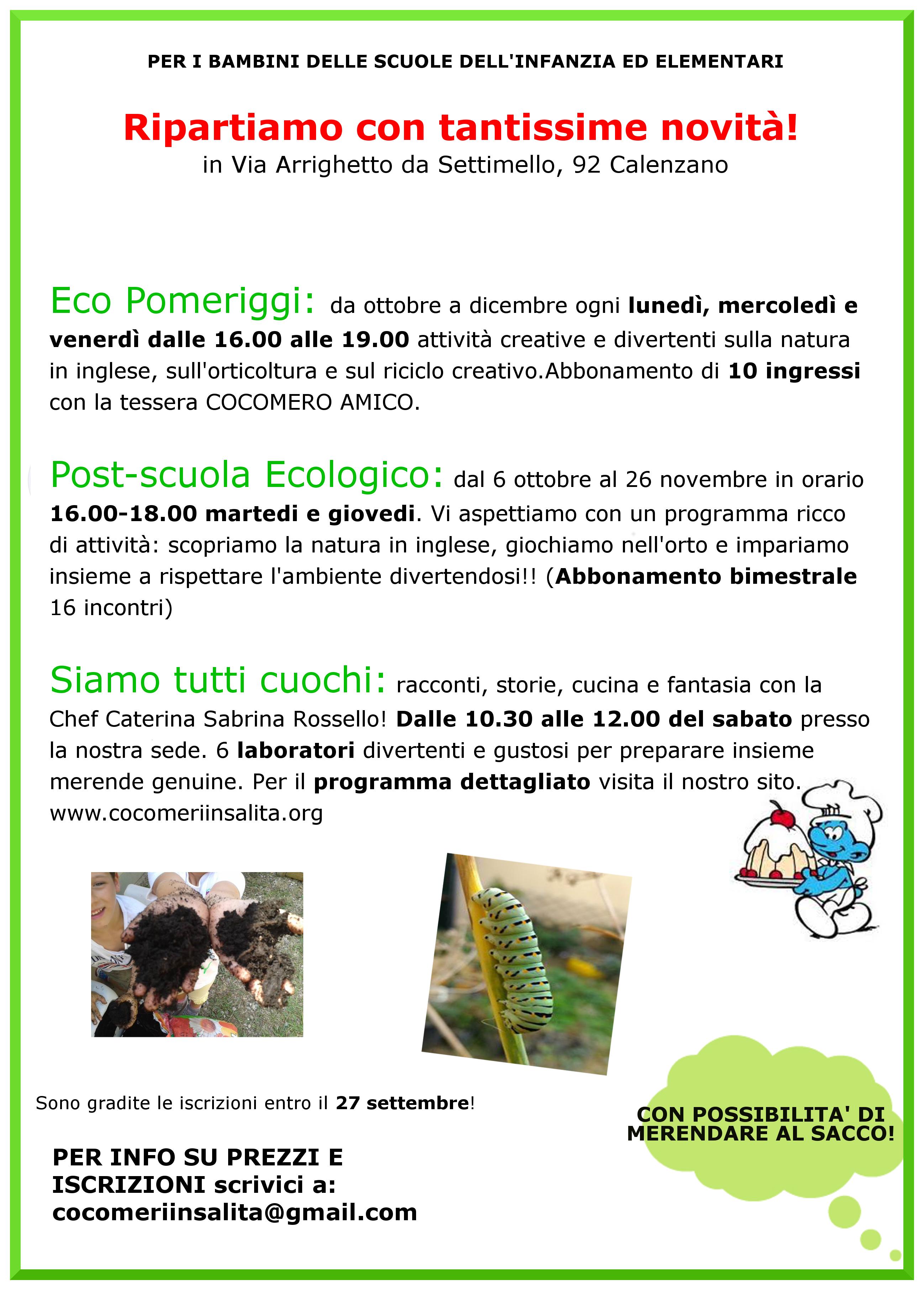 Cocomeri In Salita Progetto Di Educazione Ambientale E Upcycling
